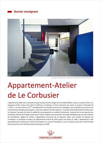 Dossier enseignant appartement atelier de le corbusier - Appartement le corbusier ...