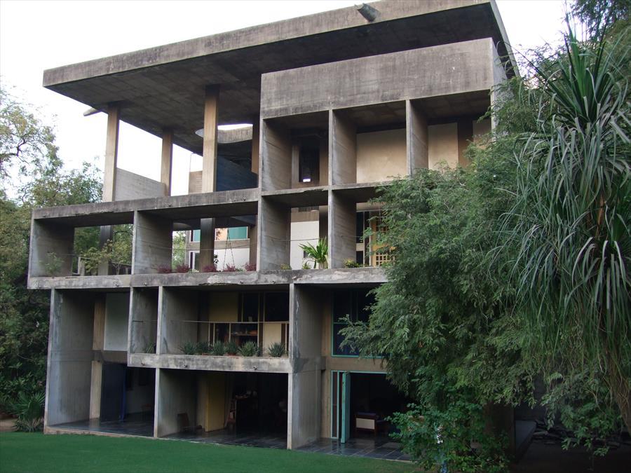 le corbusier shodan house plan