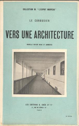 un architecte et ses livres Le Corbusier