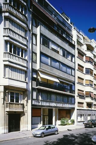 Immeuble locatif la porte molitor - 2 avenue de la porte molitor 75016 paris ...