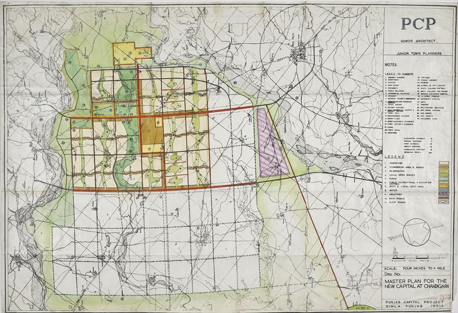 Fondation Le Corbusier - Projects - Urbanisme
